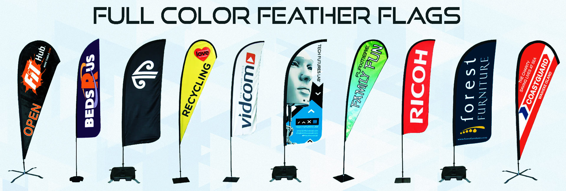 Custom Signs, Banners and Feather Flags | Custom Graphix