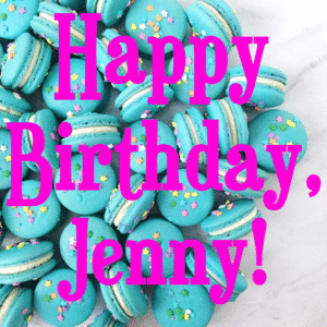 Customize Your Own Birthday Banners - Macarons Template - Custom Graphix