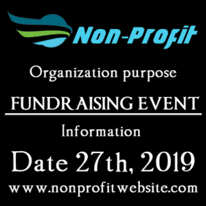 Customize Your Own Non-Profit Banners - Event Info Template - Custom Graphix