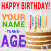 Customize Your Own Birthday Banners - Name And Age Template - Custom Graphix