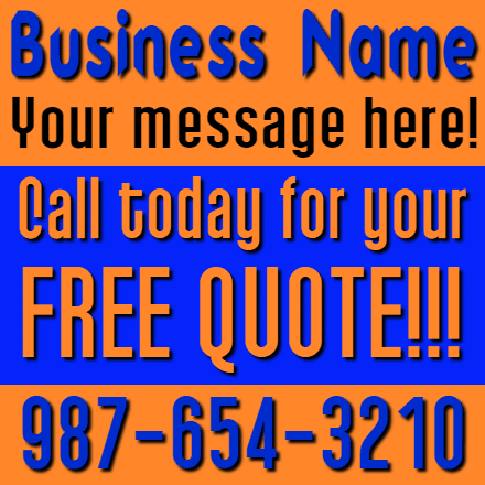 Customize Your Own Advertising Banners - Free Quote Template - Custom Graphix