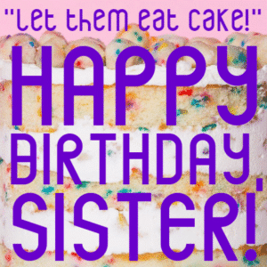 Customize Your Own Birthday Banners - Sister's Birthday Template - Custom Graphix