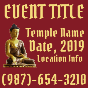 Customize Your Own Religious Banners - Temple Template - Custom Graphix