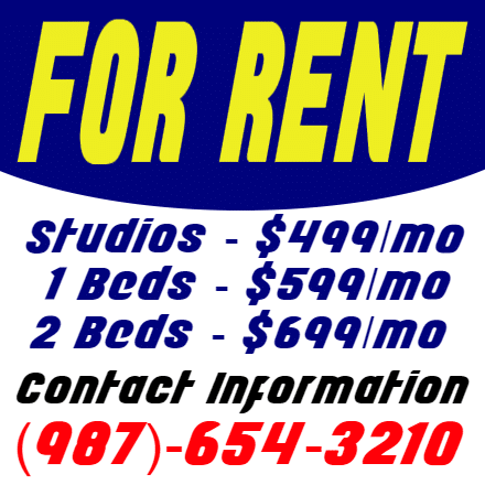 Customize Your Own Real Estate Banners - For Rent Template - Custom Graphix