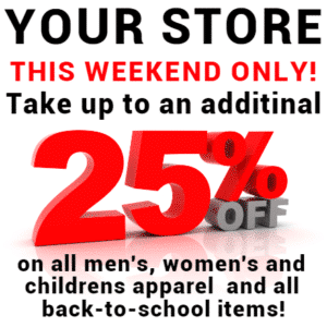 Customize Your Own Retail Banners - 25% Off Template - Custom Graphix