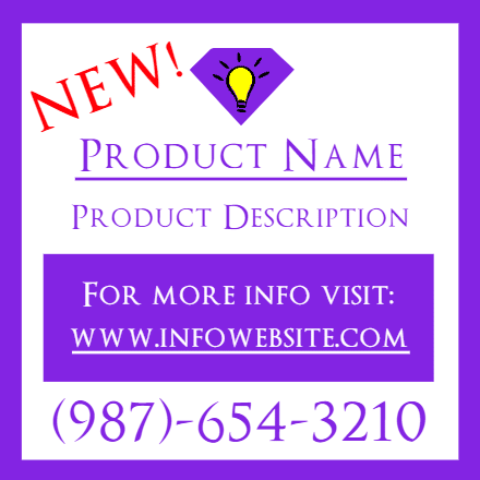Customize Your Own Advertising Banners - New Product Template - Custom Graphix