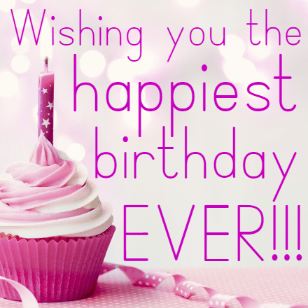 Customize Your Own Birthday Banners - Pink Cupcake Template - Custom Graphix