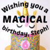 Customize Your Own Birthday Banners - Magical Template - Custom Graphix