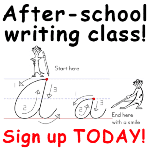 Customize Your Own School Banners - Writing Class Template - Custom Graphix