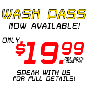 Customize Your Own Car Wash Banners - Wash Pass Template - Custom Graphix