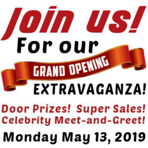 Customize Your Own Grand Opening Banner - Join Us Template - Custom Graphix