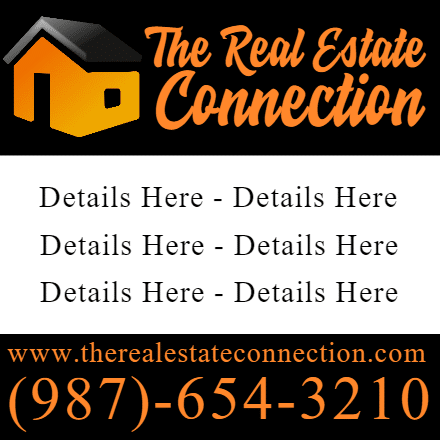 Customize Your Own Real Estate Banners - Details Here Template - Custom Graphix