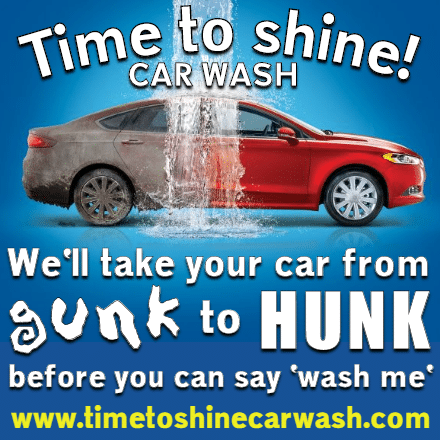 Customize Your Own Car Wash Banners - Red Car Template - Custom Graphix