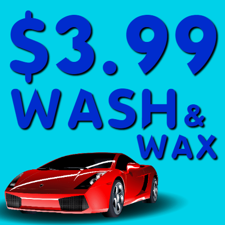 Customize Your Own Car Wash Banners - Wash & Wax Template - Custom Graphix