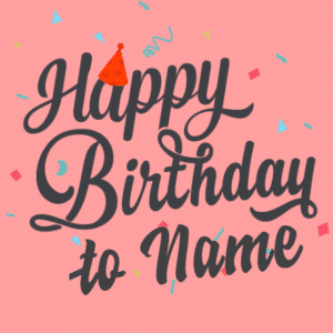 Customize Your Own Birthday Banners - Party Hat Templates - Custom Graphix