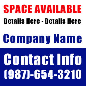 Customize Your Own Real Estate Banners - Space Template - Custom Graphix