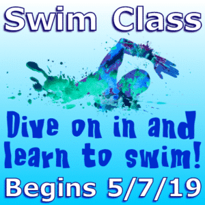 Customize Your Own School Banners - Swim Class Template - Custom Graphix