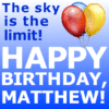 Customize Your Own Birthday Banners - Blue Template - Custom Graphix