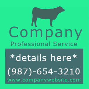 Customize Your Own Professional Services Banner - Company Template - Custom Graphix