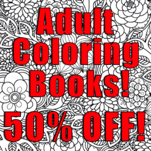 Customize Your Own Advertising Banners - Coloring Book Template - Custom Graphix