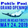 Customize Your Own Grand Opening Banner - Public Pool Template - Custom Graphix