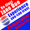 Customize Your Own Political Banner - Comptroller Templates - Custom Graphix