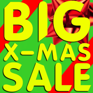 Customize Your Own Advertising Banners - Xmas Sale Template - Custom Graphix