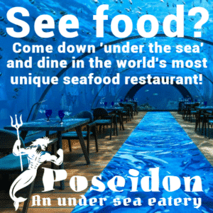 Customize Your Own Restaurant Banners - Sea Food Template - Custom Graphix