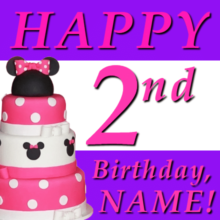 Customize Your Own Birthday Banners - 2nd Birthday Template - Custom Graphix