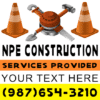 Customize Your Own Contractors Banner - Men At Work Template - Custom Graphix
