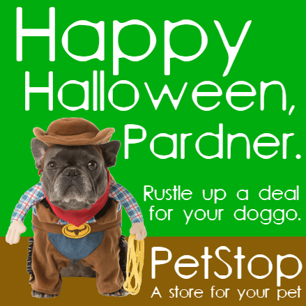 Customize Your Own Halloween Banners - Pet Shop Template - Custom Graphix