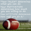 Customize Your Own Football Banners - Motivation Template - Custom Graphix