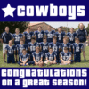 Customize Your Own Football Banners - Cowboys Team Template - Custom Graphix