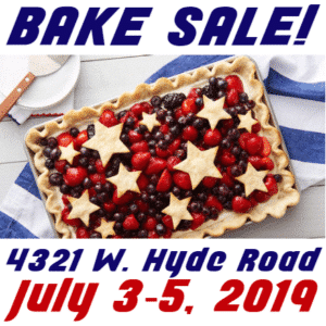 Customize Your Own 4th of July Banners - Cake Sale Template - Custom Graphix
