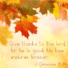Customize Your Own Thanksgiving Banners - God Quotes Template - Custom Graphix