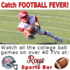 Customize Your Own Football Banners - Sports Bar Template - Custom Graphix