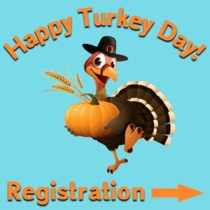 Customize Your Own Thanksgiving Banners - Turkey Template - Custom Graphix