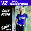 Customize Your Own Softball Banners - Senior Player Template - Custom Graphix