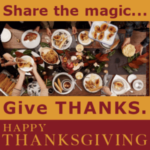 Customize Your Own Thanksgiving Banners - Sharing Template - Custom Graphix