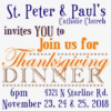 Customize Your Own Thanksgiving Banners - Church Template - Custom Graphix