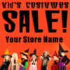 Customize Your Own Halloween Banners - Custume Store Template - Custom Graphix