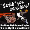 Custom Basketball Banners - Swish Team Template - Custom Graphix