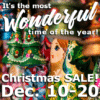 Customize Your Own Christmas Banners - On Sale Template - Custom Graphix