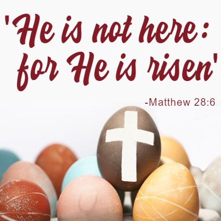 Customize Your Own Easter Banners - He Is Risen Templates - Custom Graphix