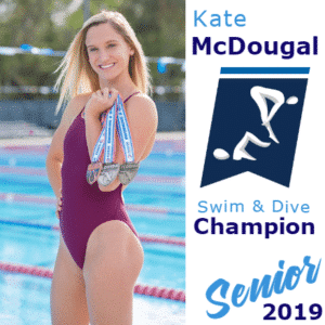 Customize Your Own Swimming Banners - Senior Champion Template - Custom Graphix