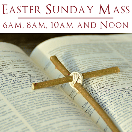 Customize Your Own Easter Banners - Sunday Mass Template - Custom Graphix