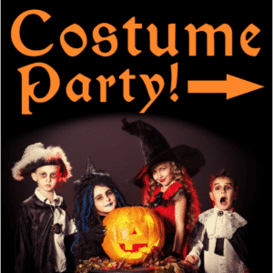 Customize Your Own Halloween Banners - Custome Party Template - Custom Graphix