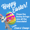 Customize Your Own Easter Banners - Bunny Template - Custom Graphix