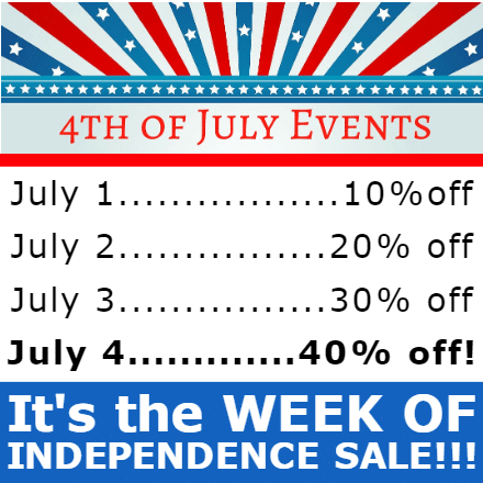 Customize Your Own 4th of July Banners - Events Template - Custom Graphix