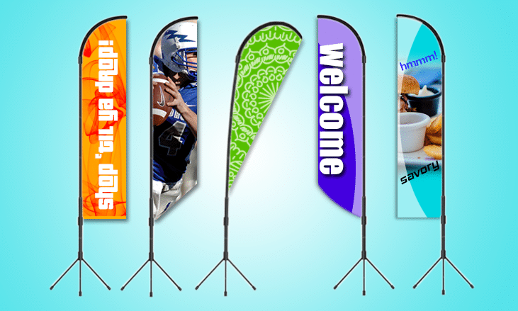 Custom Flags, Feather, Outdoor and Banner Flags | Custom Graphix